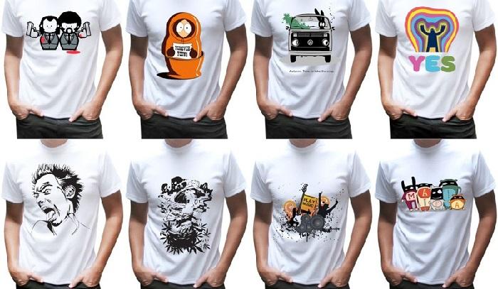 Как нанести на футболку