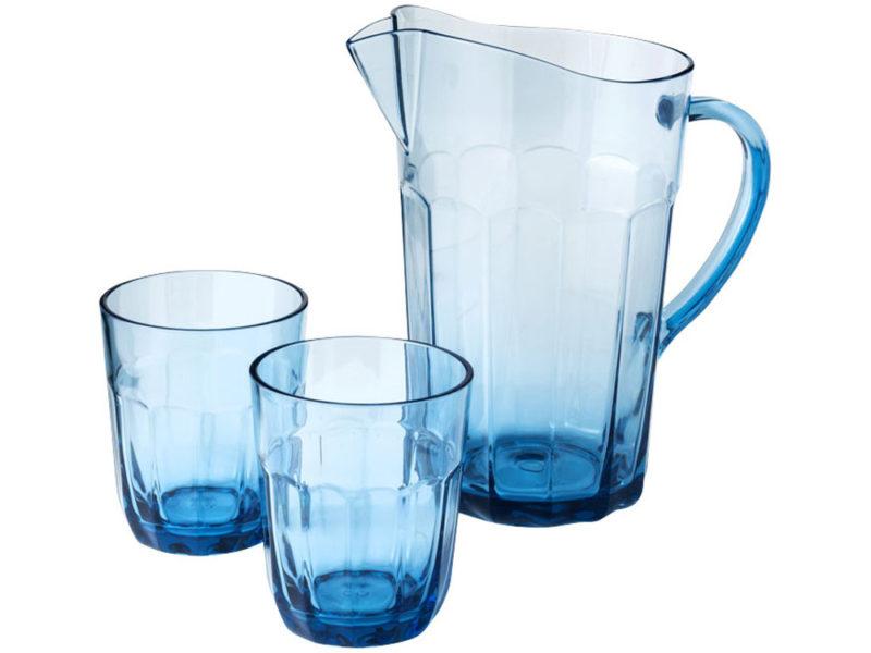 Графин с 2 стаканами из САН-пластика арт. 11269300_a