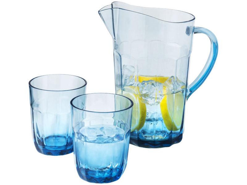 Графин с 2 стаканами из САН-пластика арт. 11269300_b
