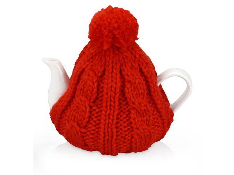 Чайник на 750 мл «Шапочка», красный арт. 608201_a