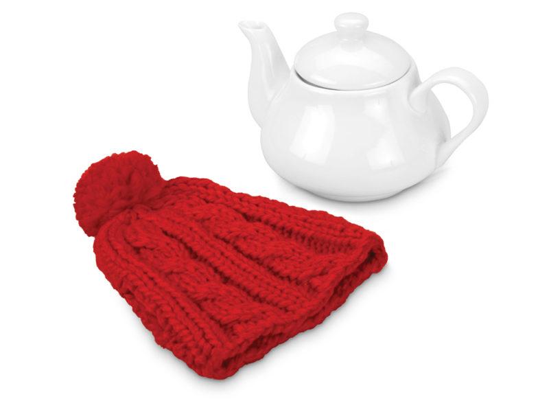 Чайник на 750 мл «Шапочка», красный арт. 608201_b