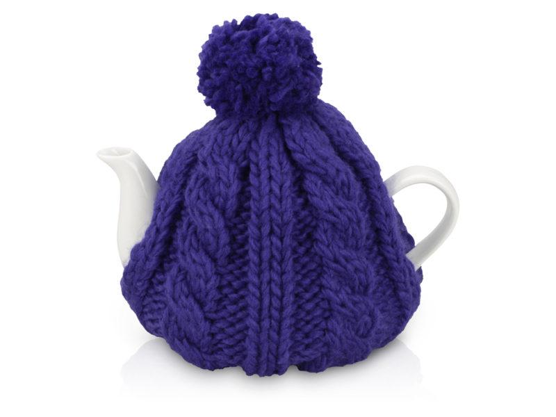 Чайник на 750 мл «Шапочка», синий арт. 608202_a