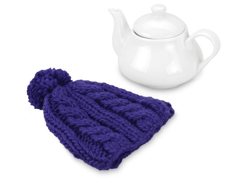 Чайник на 750 мл «Шапочка», синий арт. 608202_b