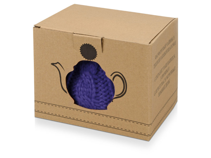 Чайник на 750 мл «Шапочка», синий арт. 608202_d