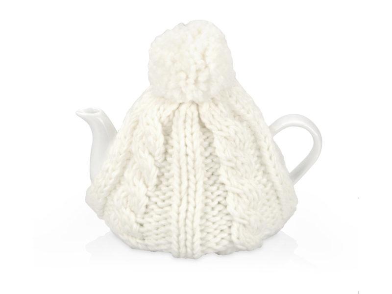 Чайник на 750 мл «Шапочка», белый арт. 608206_a