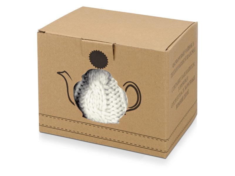 Чайник на 750 мл «Шапочка», белый арт. 608206_d