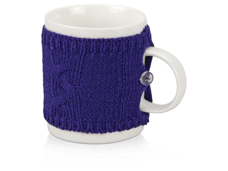 Кружка в вязаном свитере арт. 608702_a