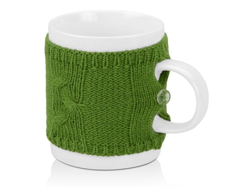Кружка в вязаном свитере арт. 608703_a