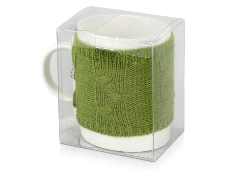 Кружка в вязаном свитере арт. 608703_d