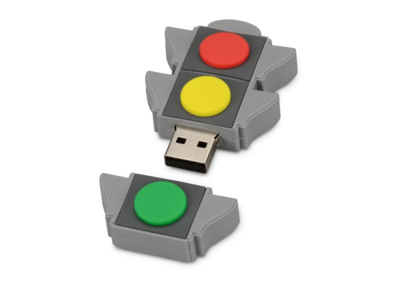 """USB-флешка на 4 Гб """"Светофор"""" арт. 621031_b"""