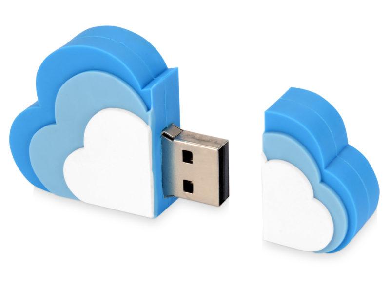 """USB-флешка на 8 Гб """"Облако"""" арт. 621039_b"""