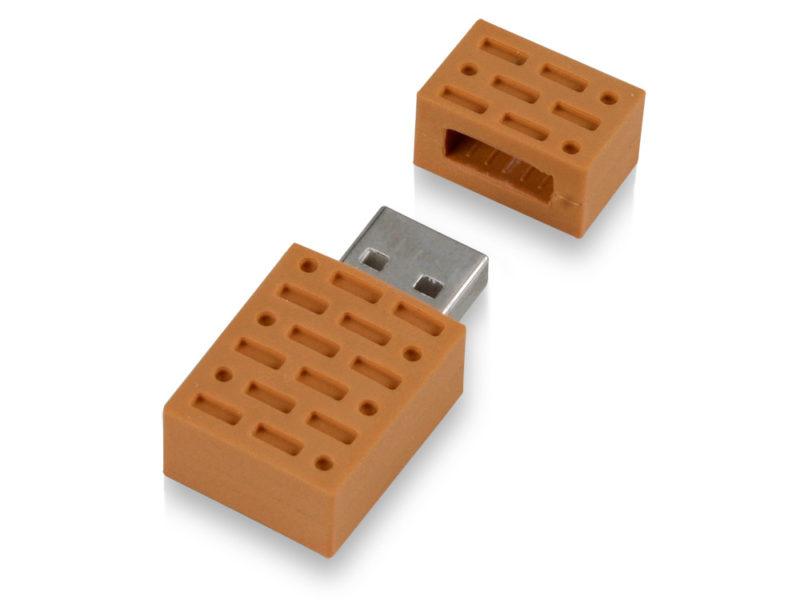 """USB-флешка на 8 Гб """"Кирпич"""" арт. 621046_b"""