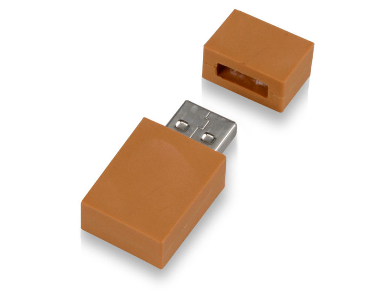 """USB-флешка на 8 Гб """"Кирпич"""" арт. 621046_c"""