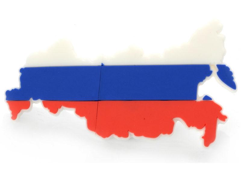 """USB-флешка на 8 Гб """"Россия"""" арт. 621821_g"""