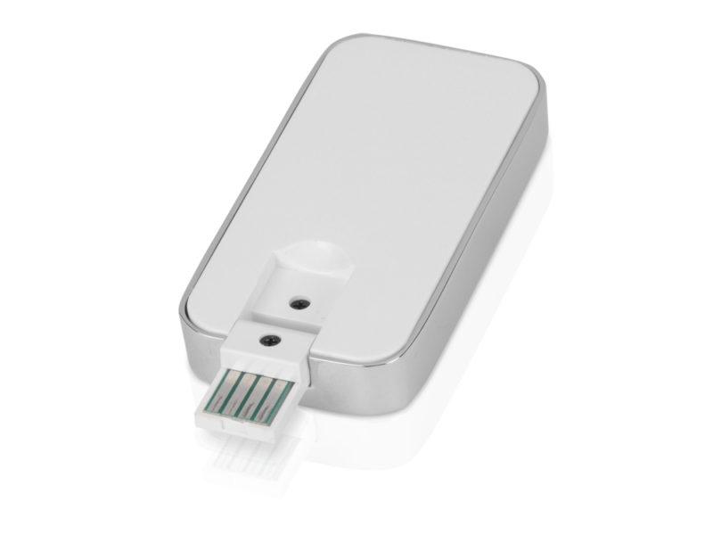 """USB-флешка на 4 Гб с функцией зажигалки """"Silver"""" арт. 6272.56.04_c"""