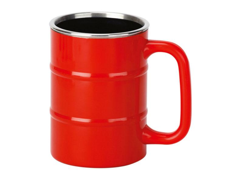 Кружка «Баррель», красный арт. 821501_a