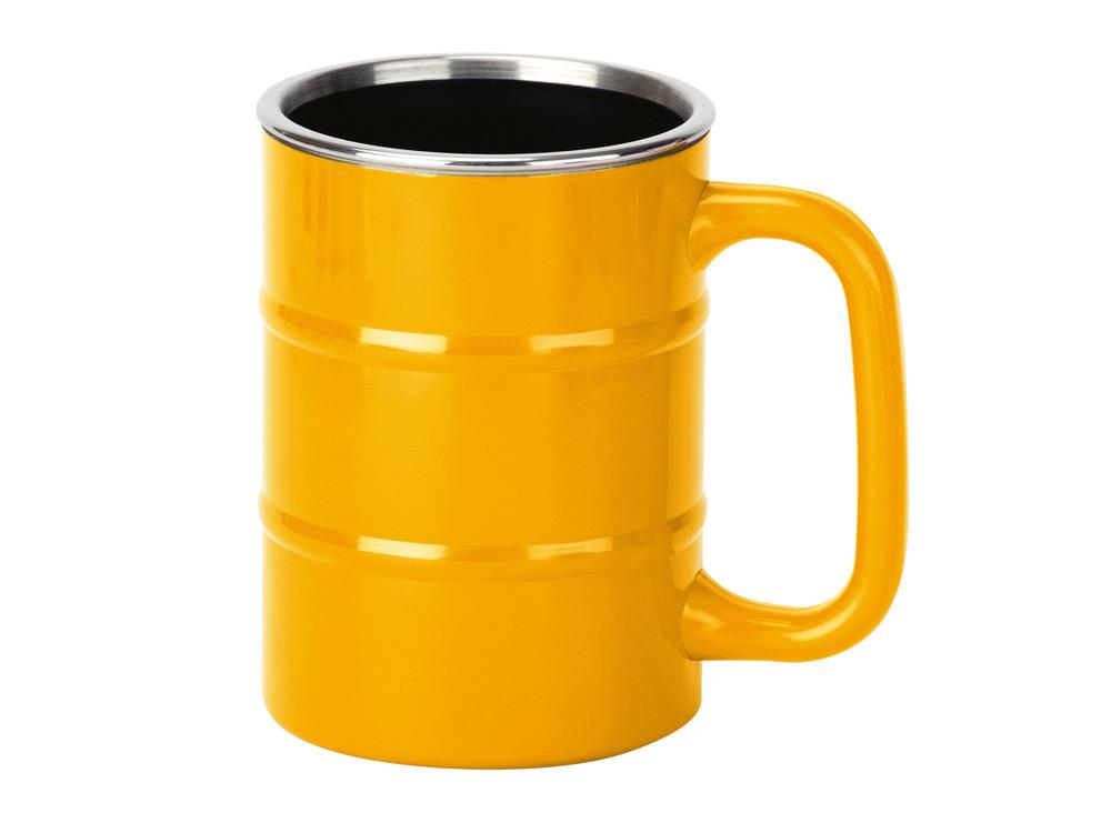 Кружка «Баррель», желтый арт. 821504_a