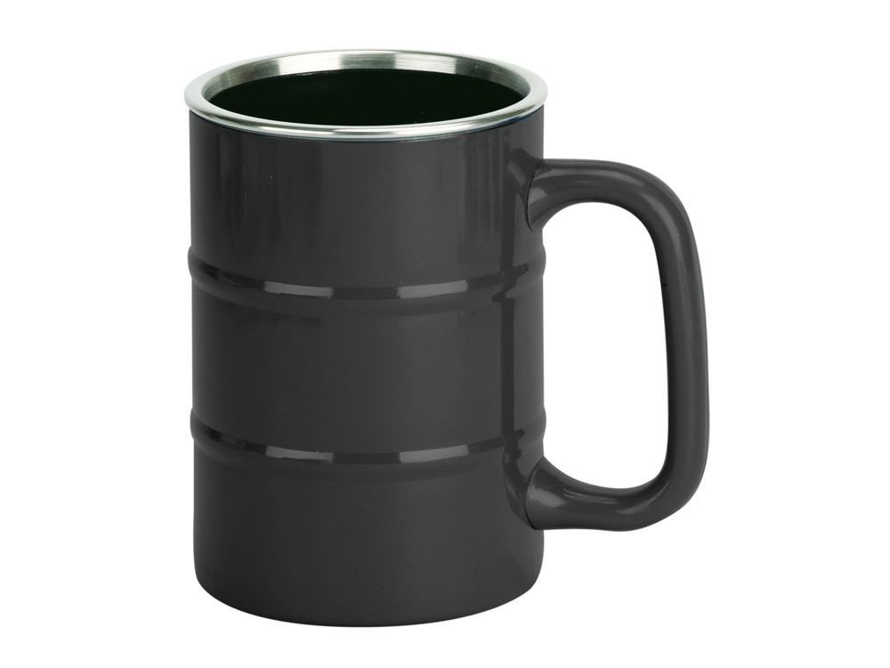 Кружка «Баррель», черный арт. 821507_a