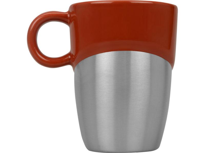 Кружка «Кинтор», керамика/нержавеющая сталь арт. 879101_e