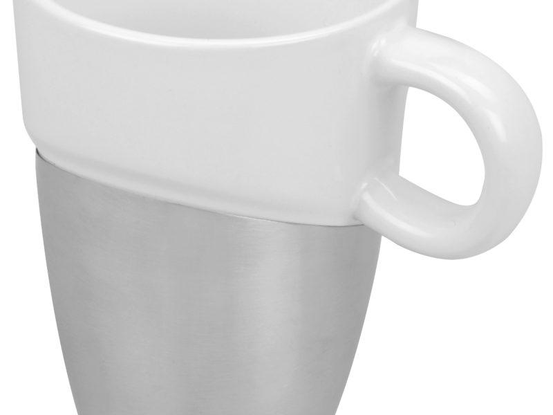 Кружка «Кинтор», керамика/нержавеющая сталь арт. 879106_a