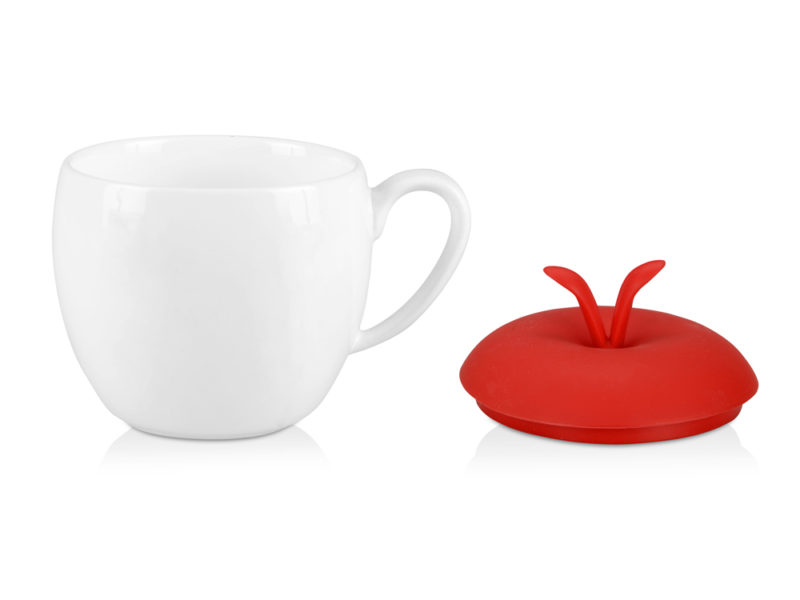 Кружка «Яблочко», фарфор/силикон арт. 879301_b