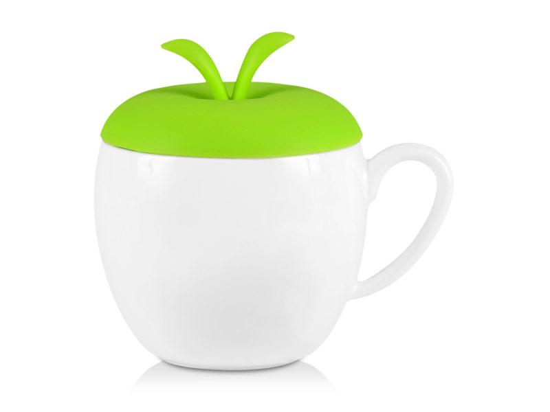Кружка «Яблочко», фарфор/силикон арт. 879303_a