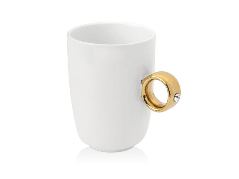 Кружка  ручкой в виде кольца арт. 879605_a