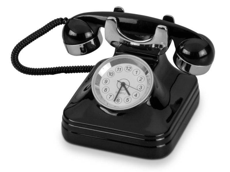 Часы «Ретро-телефон» арт. 104707_a