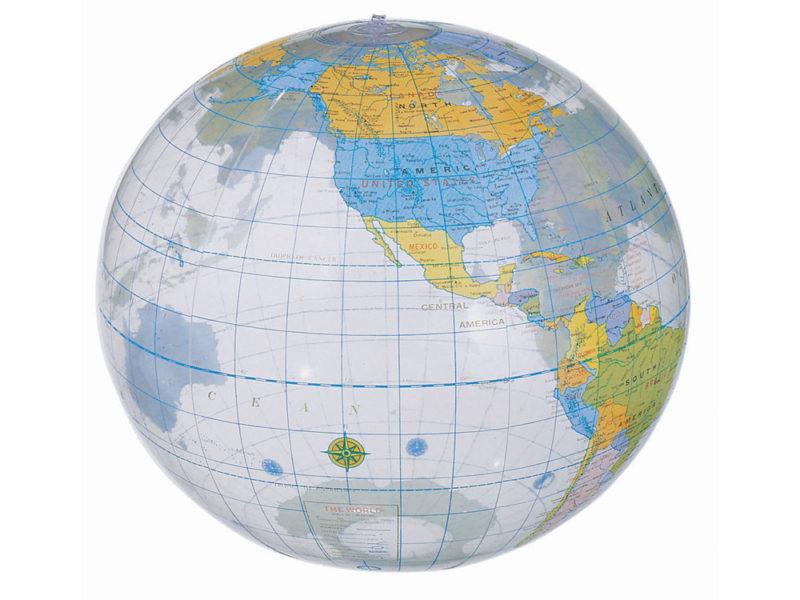Мяч надувной пляжный «Globe» арт. 19538615_a