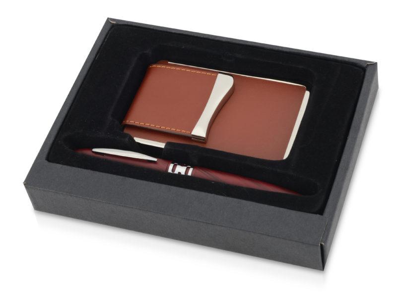 Подарочный набор «Мехико»: визитница, ручка арт. 370208_a