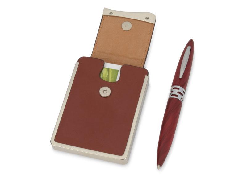 Подарочный набор «Мехико»: визитница, ручка арт. 370208_b