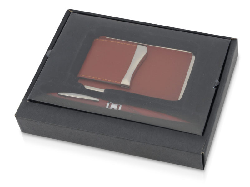 Подарочный набор «Мехико»: визитница, ручка арт. 370208_j
