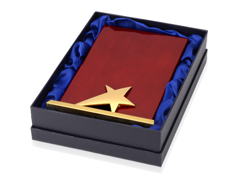 Плакетка «Звезда» арт. 608009_g