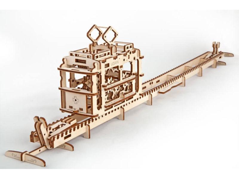 3D-пазл UGEARS «Трамвай» арт. 70008_a