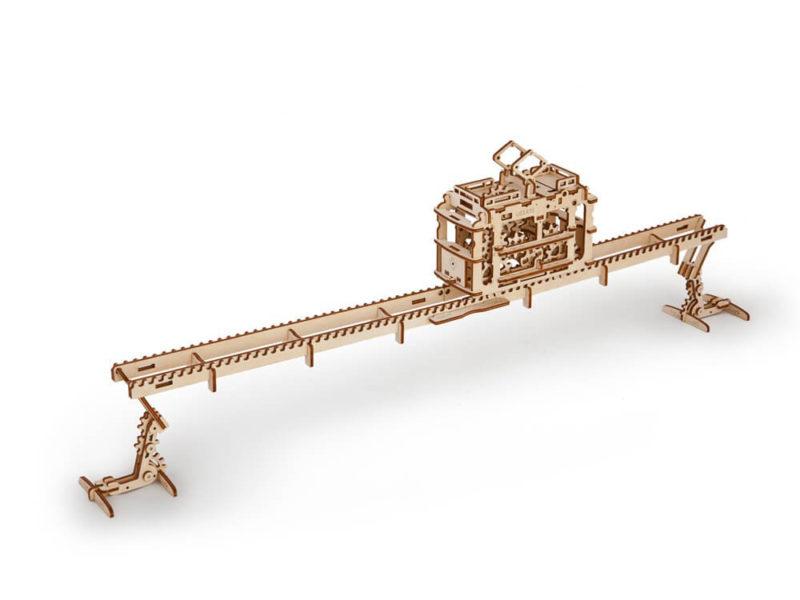 3D-пазл UGEARS «Трамвай» арт. 70008_c