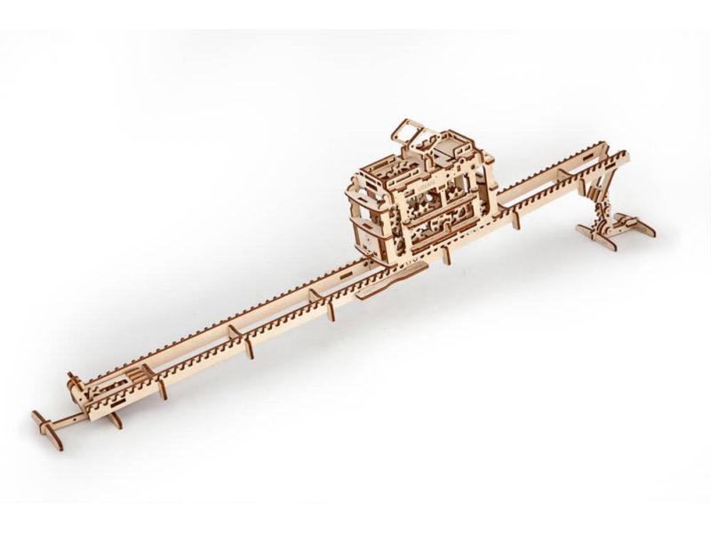 3D-пазл UGEARS «Трамвай» арт. 70008_d