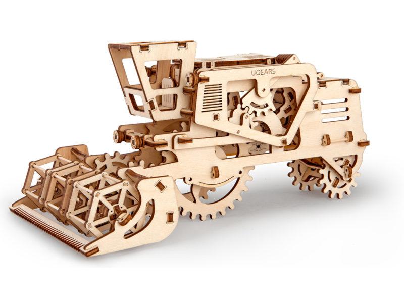 3D-пазл UGEARS «Комбайн» арт. 70010_a