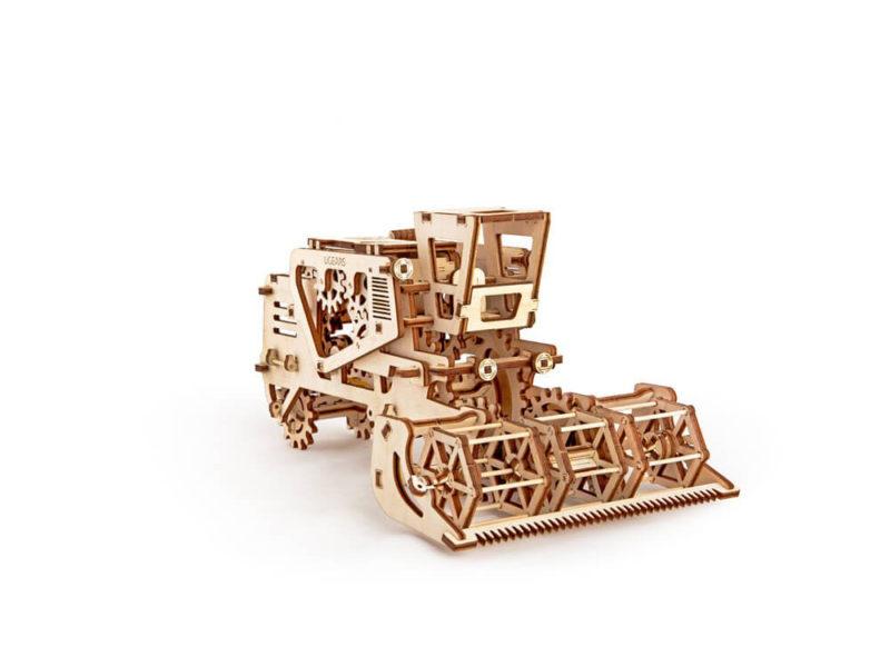 3D-пазл UGEARS «Комбайн» арт. 70010_b