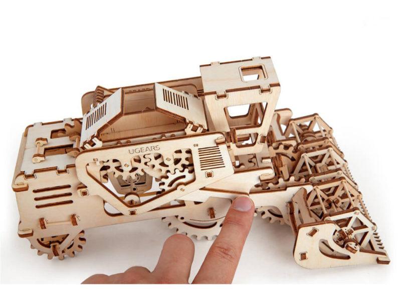 3D-пазл UGEARS «Комбайн» арт. 70010_h