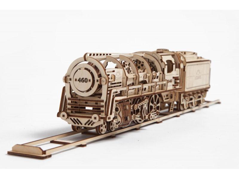 3D-пазл UGEARS «Поезд» арт. 70012_a