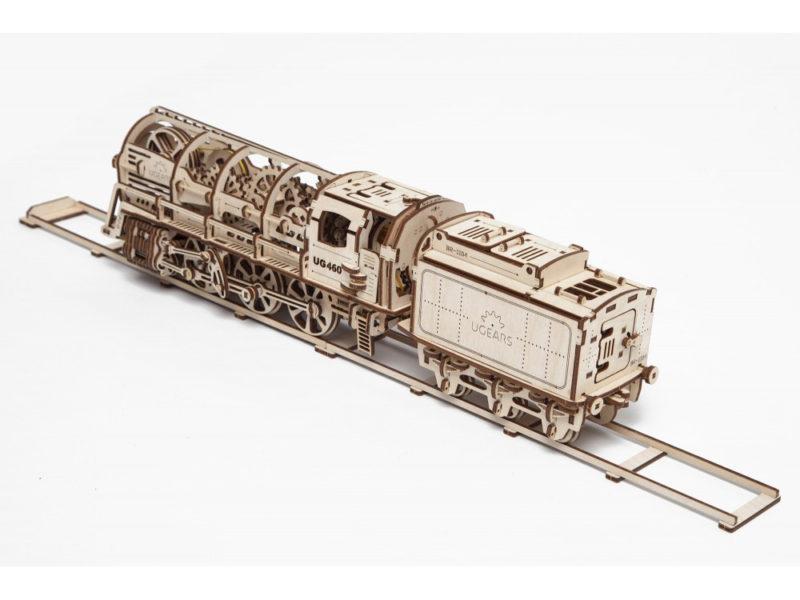 3D-пазл  UGEARS «Поезд» арт. 70012_b