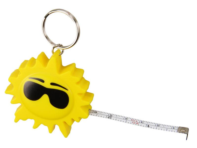 Брелок-рулетка «Солнце», 1м арт. 719504_b
