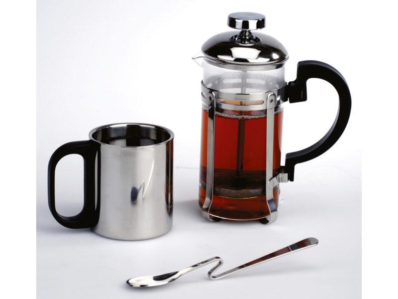 Набор: заварочный чайник, кружка, чудо-ложка арт. 821520_c