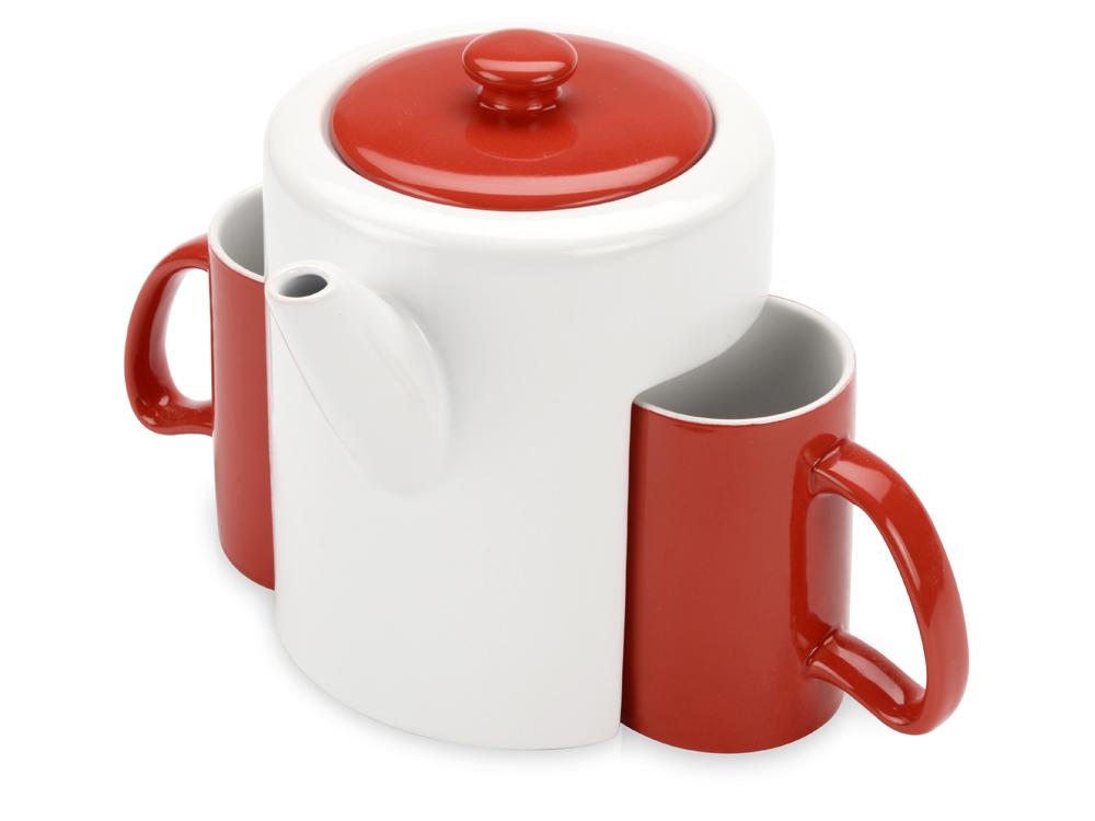 Набор: чайник, 2 чашки арт. 823201_a