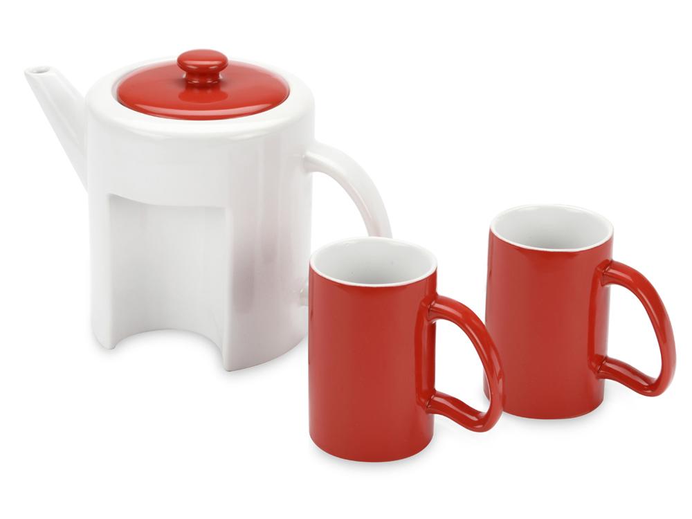 Набор: чайник, 2 чашки арт. 823201_c