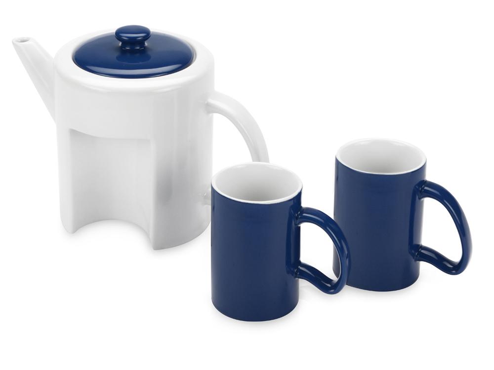Набор: чайник, 2 чашки арт. 823202_c