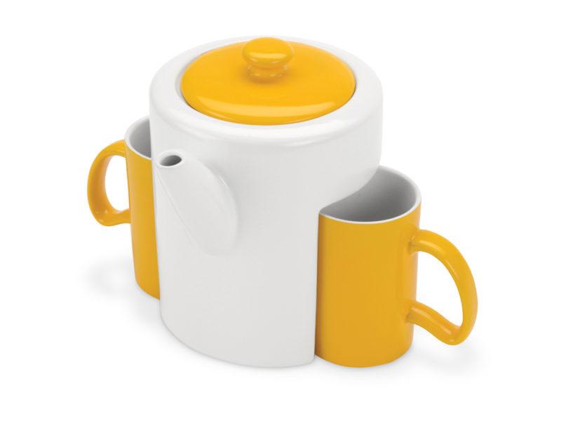 Набор: чайник, 2 чашки арт. 823204_a