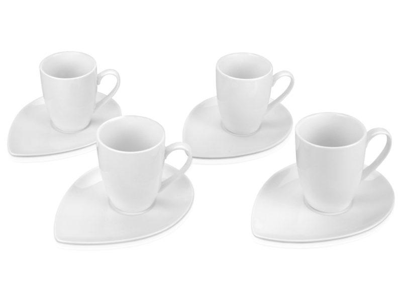 Набор: 4 чашки с блюдцами арт.  арт. 829696_a