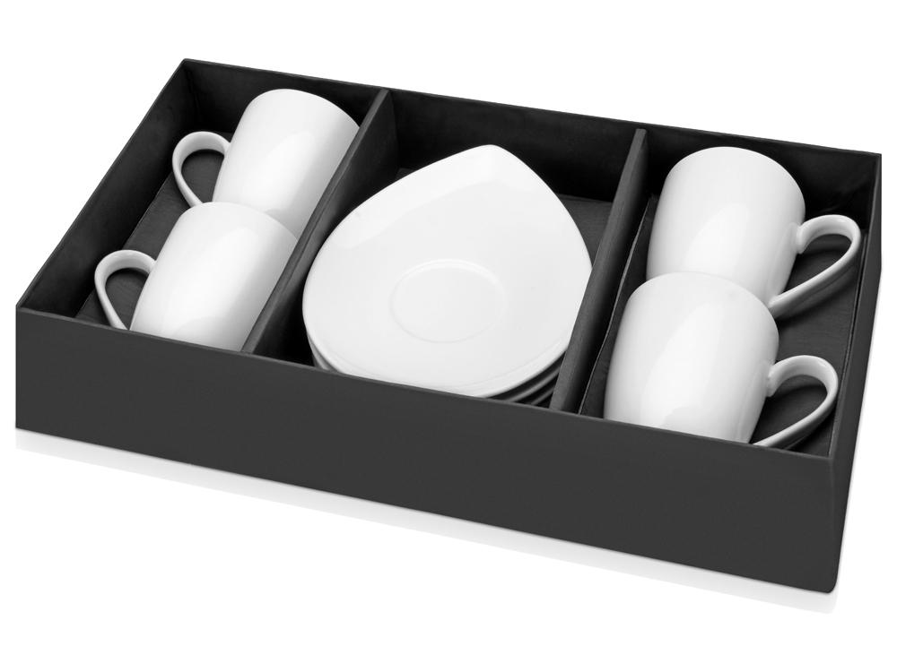 Набор: 4 чашки с блюдцами арт. 829696_b