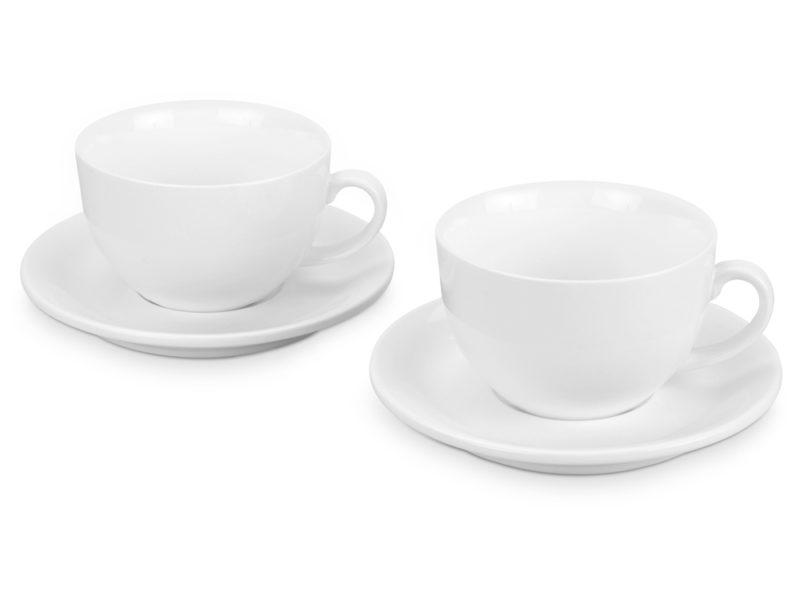 Набор: 2 чашки с блюдцами «Дабл» арт. 829856_a